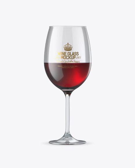 Red Wine Glmockup Gl Mockup Free Psd