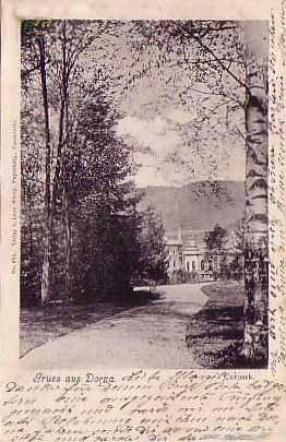 Vatra Dornei - Parcul - 1900