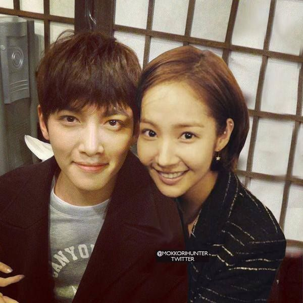 Ji Chang Wook and Park min young- healer After party  YOU GUYS CONTINUE THE SHIP PLEASE