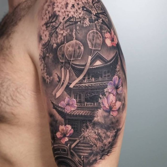 Pin By Cassi Richardson On Tattoos Japanese Tattoo Temple
