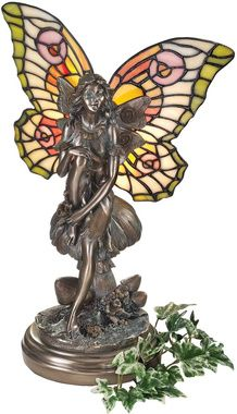 Fairy of the Glen Tiffany-Style Stained Glass: Tiffany Styl Stained, Beautiful Fairies, Style, Illuminated Sculpture, Glasses Illuminated, Design Toscano, Glen Tiffany'S Styl, Tiffany'S Styl Stained, Stained Glasses