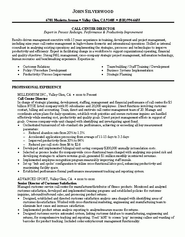 Resume Examples Call Center Sample Resume Resume Objective Sample Job Resume Examples