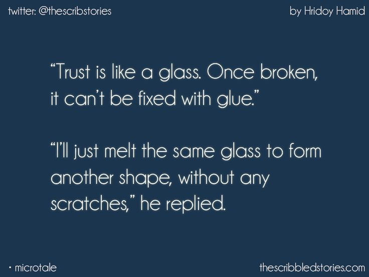 This guy has his way with words and yeah melting glass too