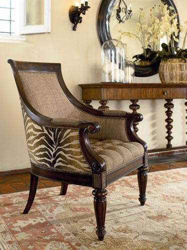 british colonial chair la z boy delano big and tall executive office living area console thomasville furniture ernesthemingwaycollection com design pinterest style c