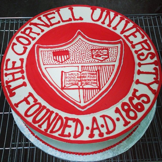 17 Best images about Creative Cornell Cakes and Cupcakes ...