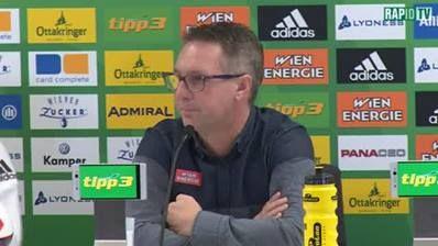 Die Pressekonferenz zum Spiel gegen FC Red Bull Salzburg. #RBSSCR