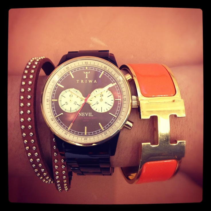 How to wear Triwa - http://www.horloges.nl/triwa-turtle-nevil