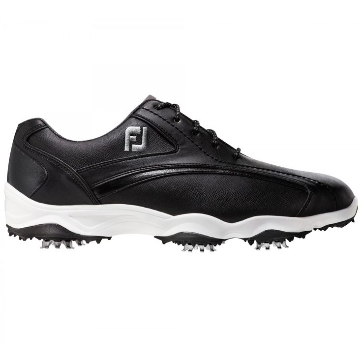 FootJoy Superlites 58014 Black Men's Golf Shoe from @golfskipin
