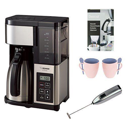 Zojirushi Ec-Ysc100-Xb Fresh Brew Coffee Maker With Deluxe Accessory Bundle
