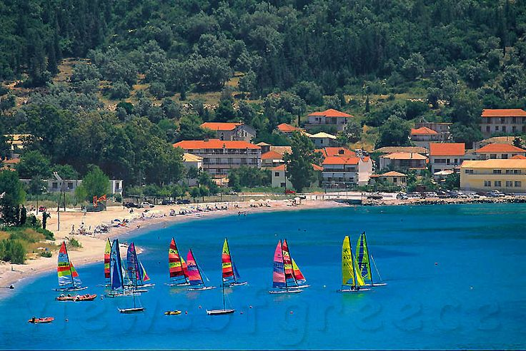Pondi beach,Vassiliki Lefkada