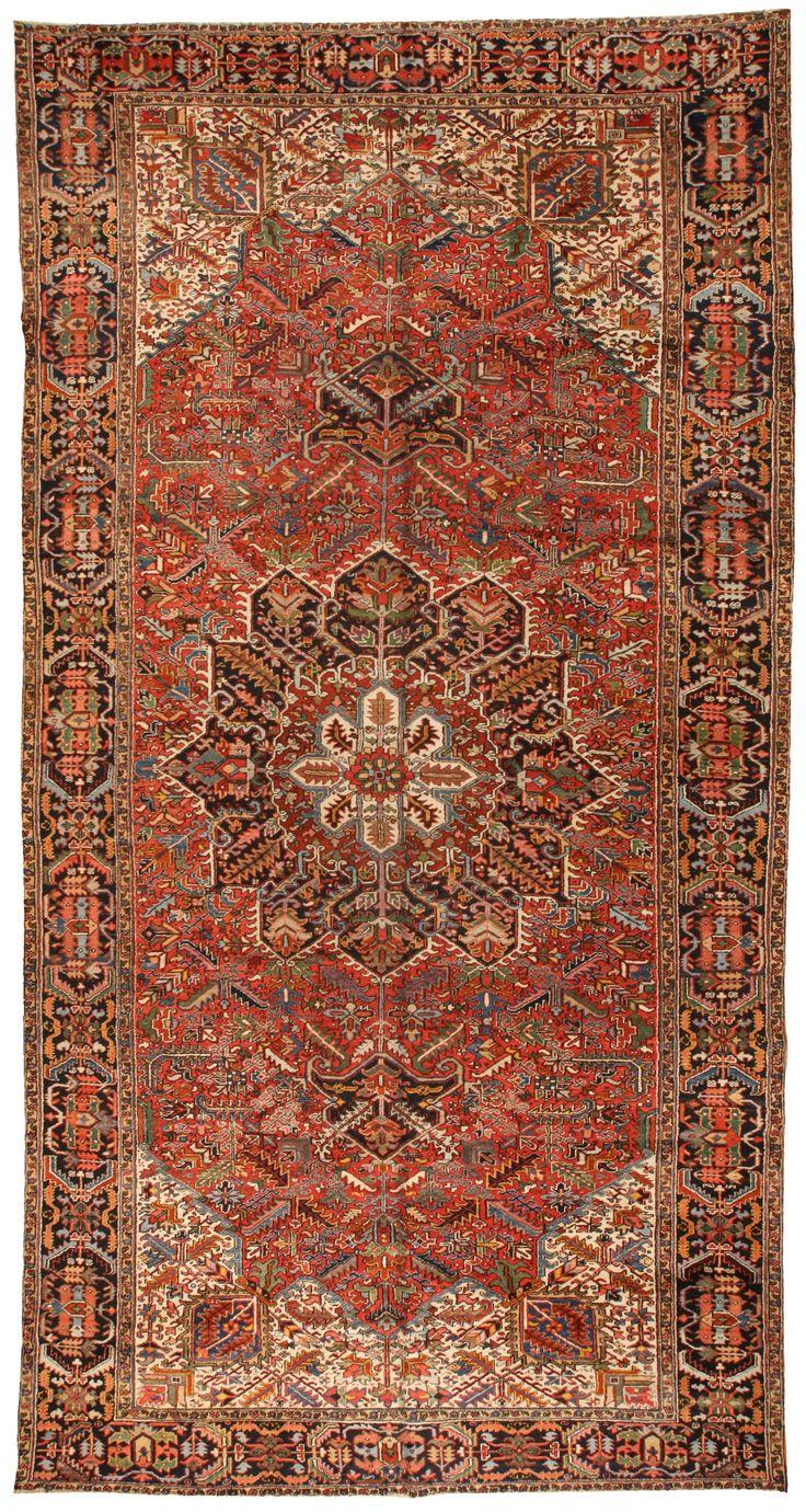 299 best Persian Heriz Serapi Rugs images on Pinterest ...