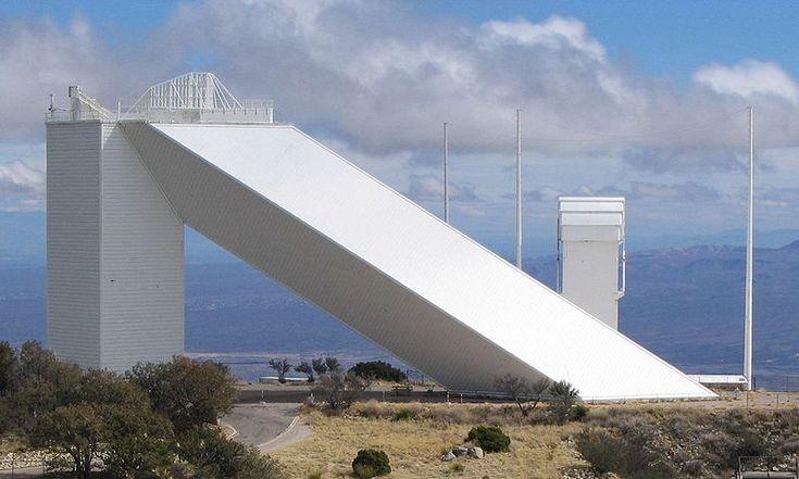 AD Classics: McMath-Pierce Solar Telescope, Kitt Peak National Observatory / SOM mcmath – ArchDaily