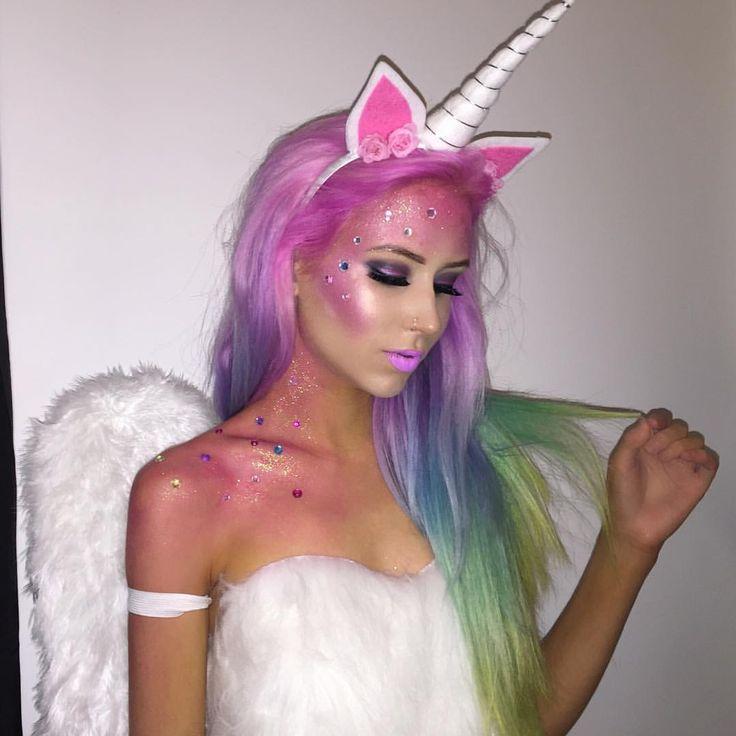 Amy the Mermaid as a beautiful unicorn!