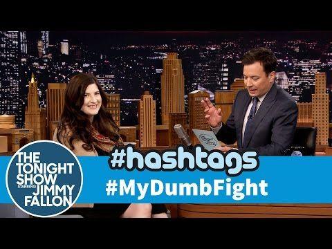 The Tonight Show Starring Jimmy Fallon: Hashtags: #MyDumbFight