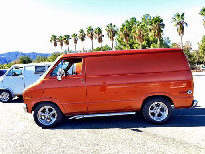 Less is more on a custom Dodge van
