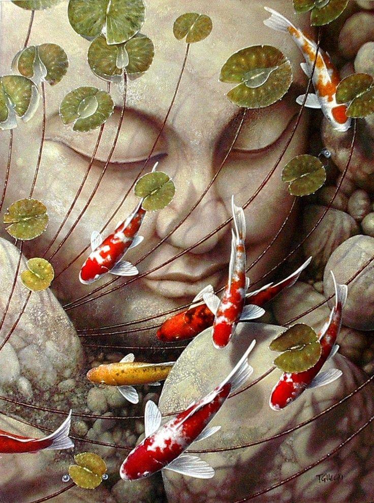 Inner Peace By Terry Gilecki Buddha Art Buddha Gifts