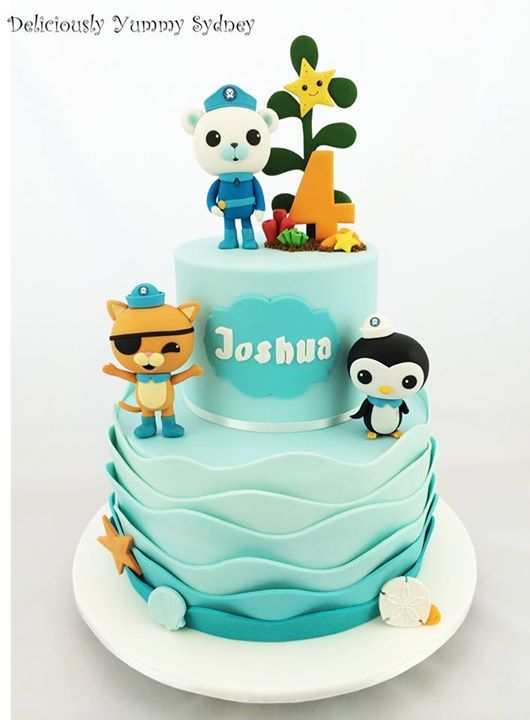 17 Best Images About Octonauts Cakes On Pinterest