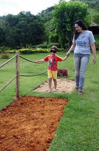 Jardim Sensorial em Petrópolis, RJ (Foto: Divulgação)
