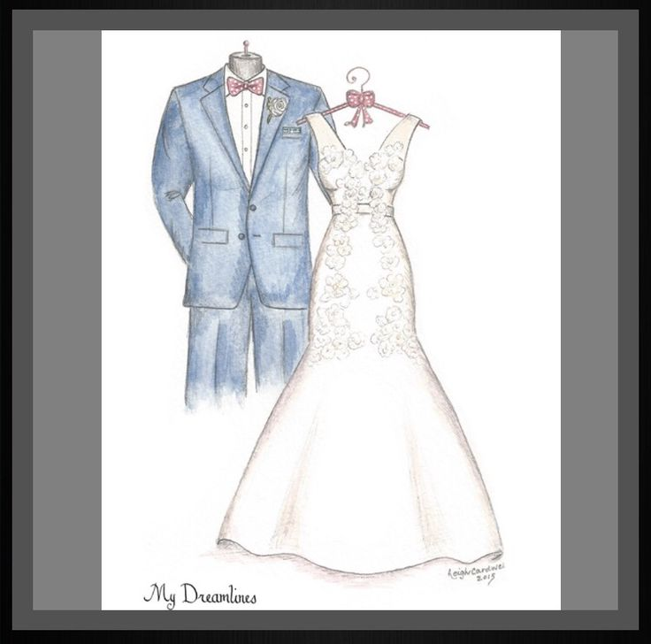 View Our Gallery Of A Sketch That Is Perfect For The One Year Anniversary Gift Wedding Or Christmas
