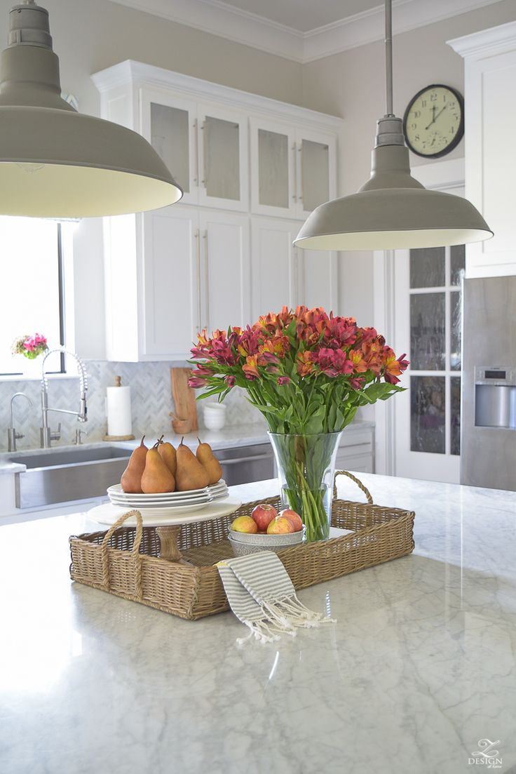 Kitchen Island Centerpiece Ideas - Kitchen island centerpiece ideas