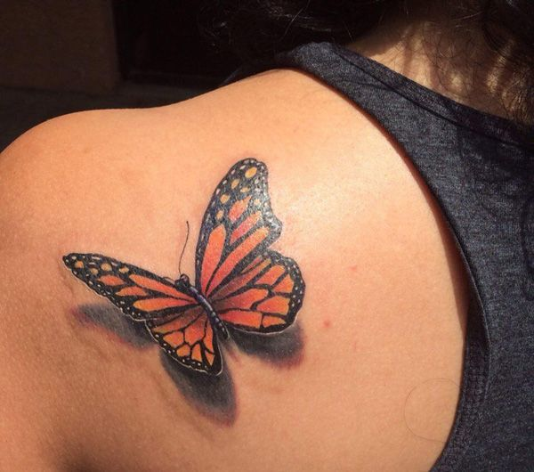 25 beautiful 3d butterfly tattoo ideas on pinterest butterfly tattoos butterfly tattoo. Black Bedroom Furniture Sets. Home Design Ideas