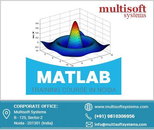 MATLAB Training Institute Delhi provide skills for MATLAB to