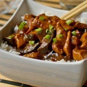 Курица с баклажанами по-китайски рецепт – основные блюда. «Афиша-Еда»