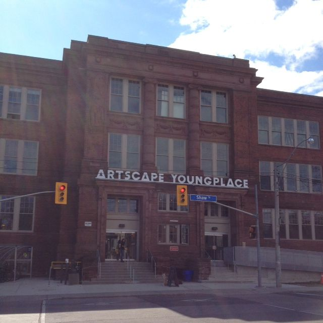 Artscape Youngplace -Had a show here.