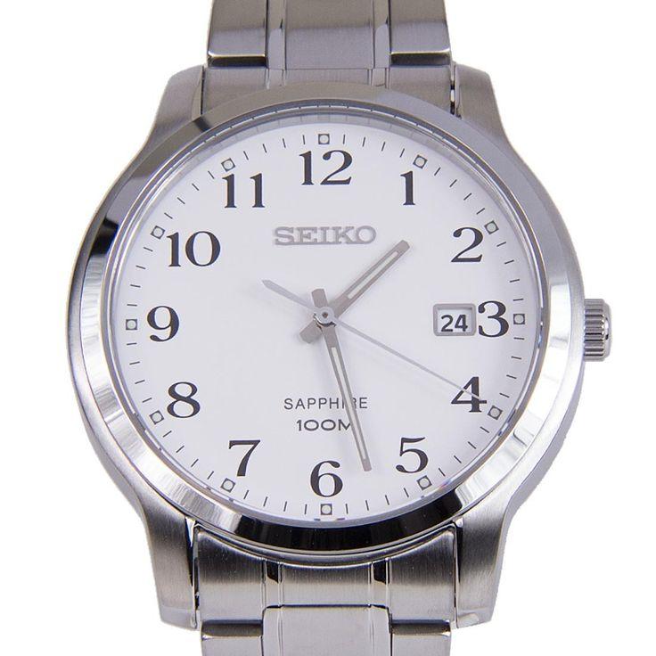 Chronograph-Divers.com - Seiko Quartz SGEH67P1 SGEH67 Arabic Numeral Markers Luminous Hands Casual 100m Gents Watch, $108.00 (https://www.chronograph-divers.com/seiko-quartz-sgeh67p1-sgeh67-arabic-numeral-markers-luminous-hands-casual-100m-gents-watch/)