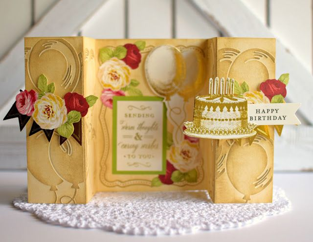 Crafty Creations with Shemaine: Anna Griffin Accordian Fold Embossing folders