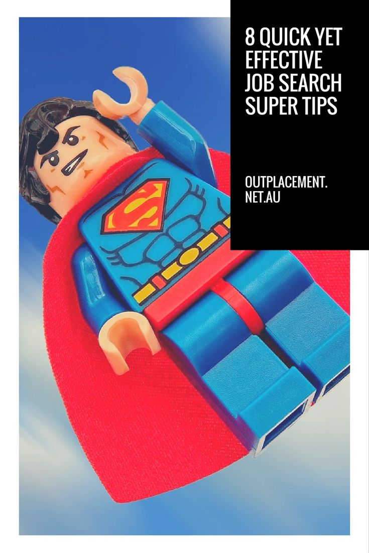 8 quick but effective job search super tips - Glide Outplacement
