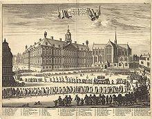 Michiel de Ruyter werd op 18 maart 1677 in de Nieuwe Kerk in Amsterdam begraven. Een mooie begrafenisstoet met vele belangrijke mensen begeleidde de Ruyter op zijn allerlaatste tocht. Michiel de Ruyter werd bij zijn dood in heel Europa als de grootste admiraal van zijn tijd gezien.
