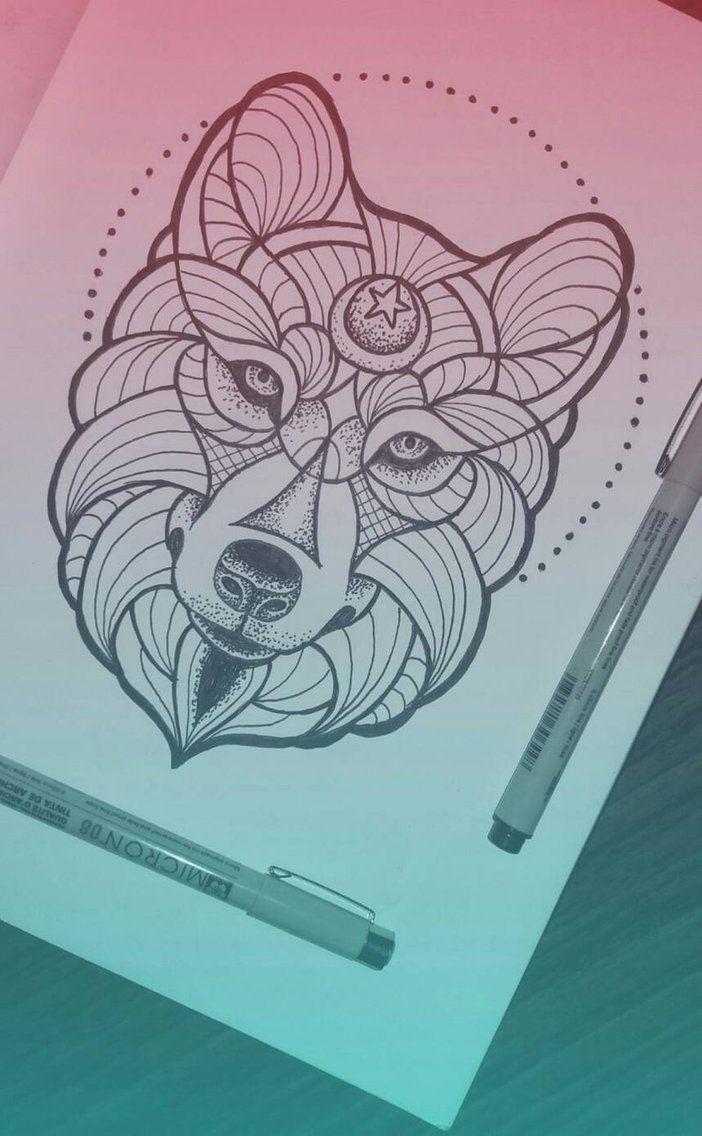 Wolf mandala by Pabllo13
