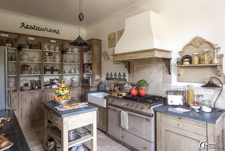 e-magDECO : Magazine de décoration: « Le Clos Saint Fiacre ». French Country Living Kitchen