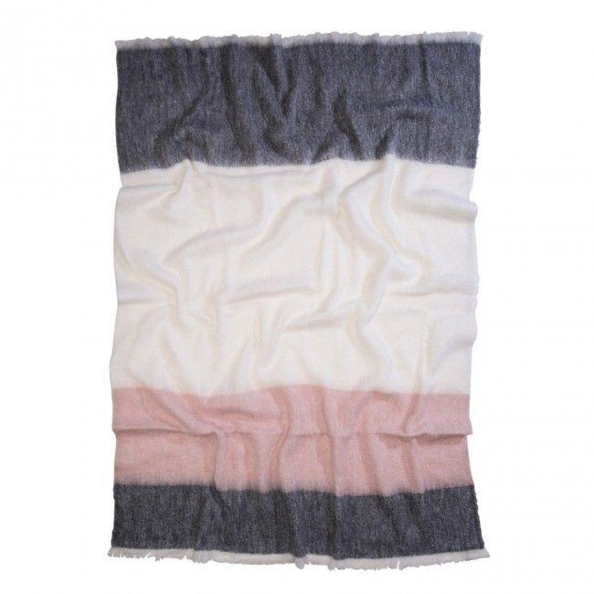 Picnic Stripe Alpaca Blanket