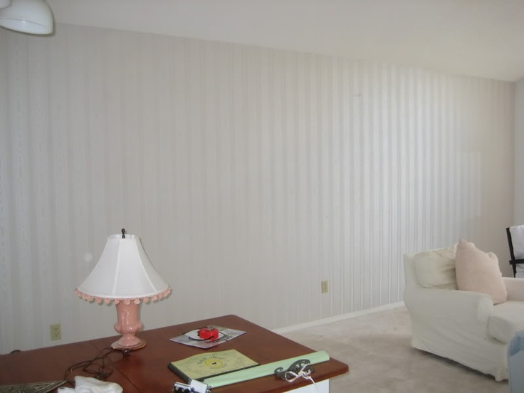 Nice Cover Rough Wall With Beadboard And Paint As Desired.