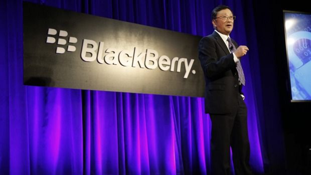 BlackBerry partners with Samsung, others in mobile security solutions push. CEO John Chen has a plan to turn around the smartphone pioneer