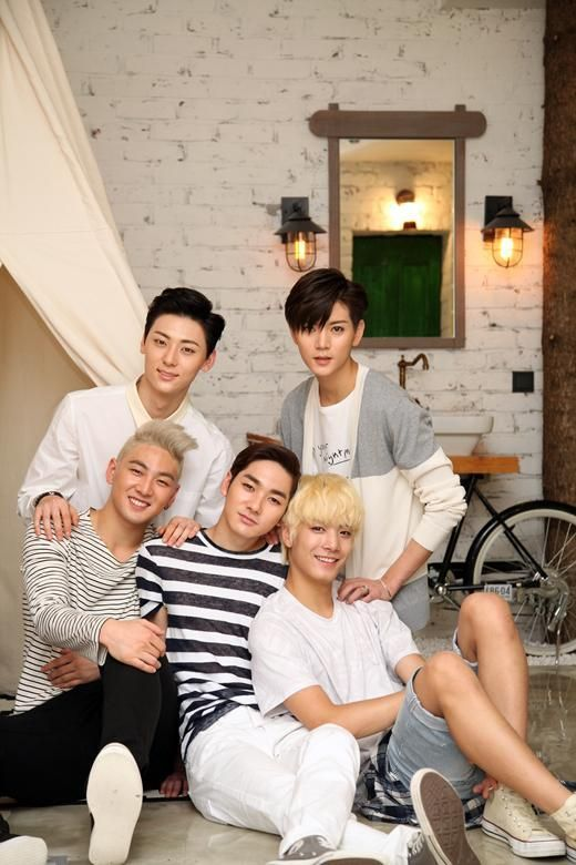 NU'EST - These cuties make my day with those charming smiles... :)