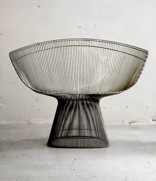 Platner Lounge Chair for Knoll; Design Warren Platner (1966)