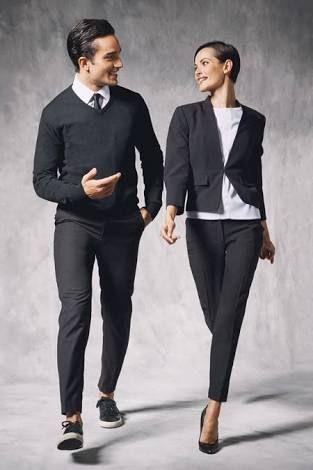Best 25 hotel uniform ideas on pinterest waiter uniform for Uniform at spa castle