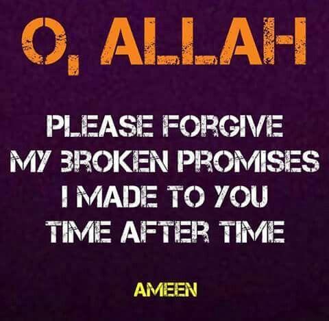 Ameen! Allah ♡ you