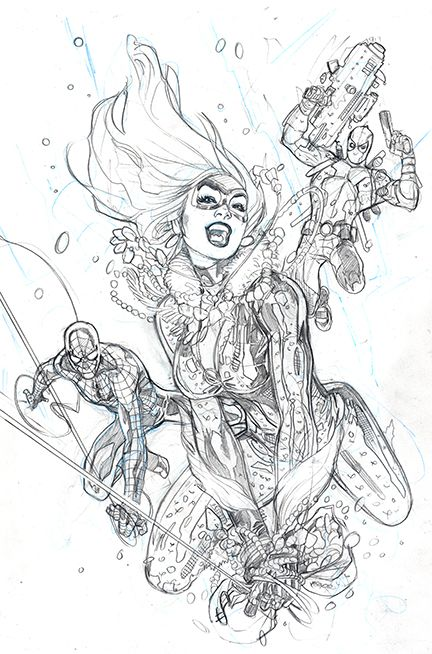 Amazing Spider-Man #1 Variant Cover Pencil by TerryDodson.deviantart.com on @deviantART