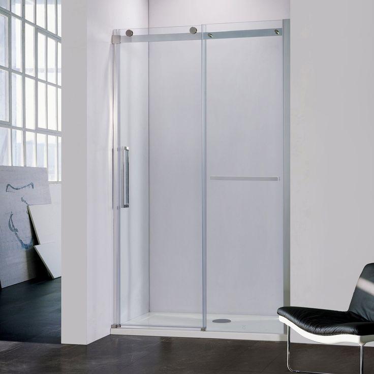 """BAI 0922 Frameless Sliding Glass Shower Enclosure / 60"""""""
