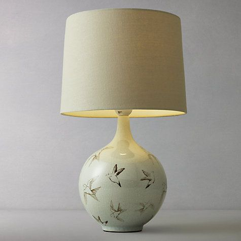 Buy John Lewis Passerine Bird Ceramic Table Lamp Online at johnlewis.com