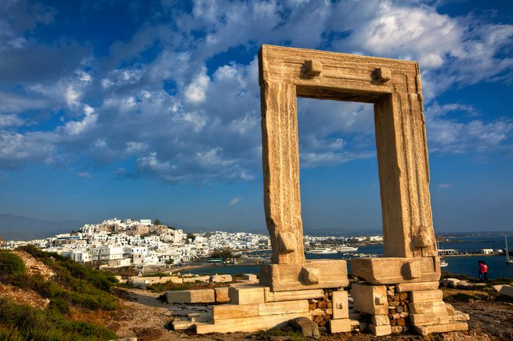 VISIT GREECE| Portara gate in #Naxos #visitgreece #greece