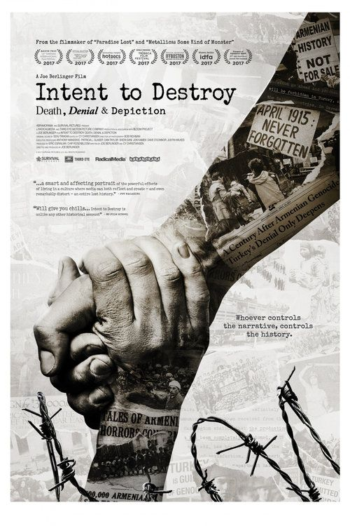 Watch Intent to Destroy: Death, Denial & Depiction 2017 Full Movie Online Free