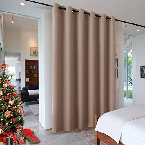 Amazon Com Ryb Home Blackout Room Divider Curtain Portable Light