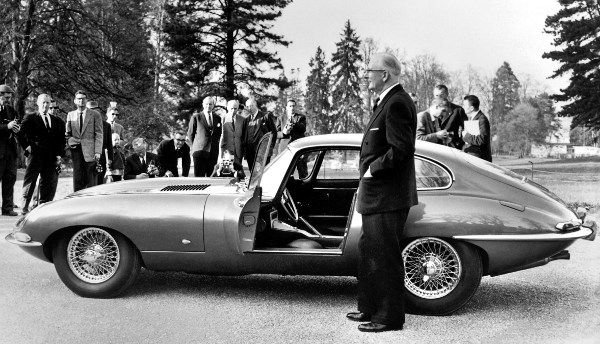 William Lyons introduces the Jaguar E-type in 1961