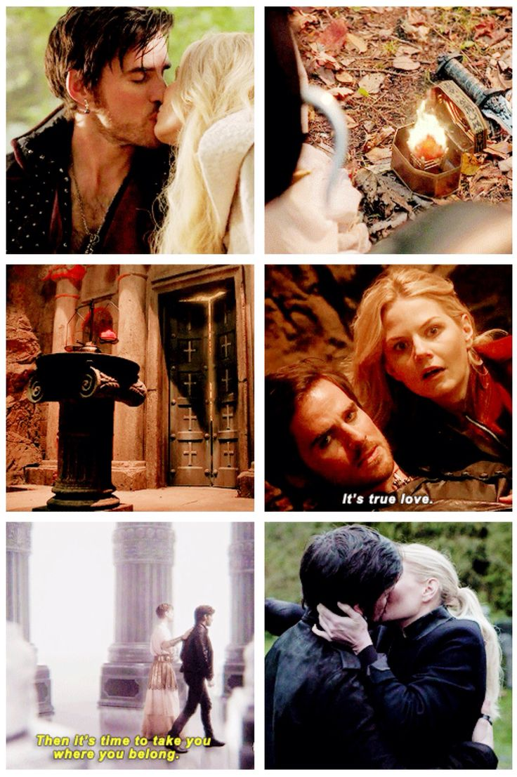 """Death cannot stop true love. It can only.. Delay it. For a while."" CAPTAIN SWAN"