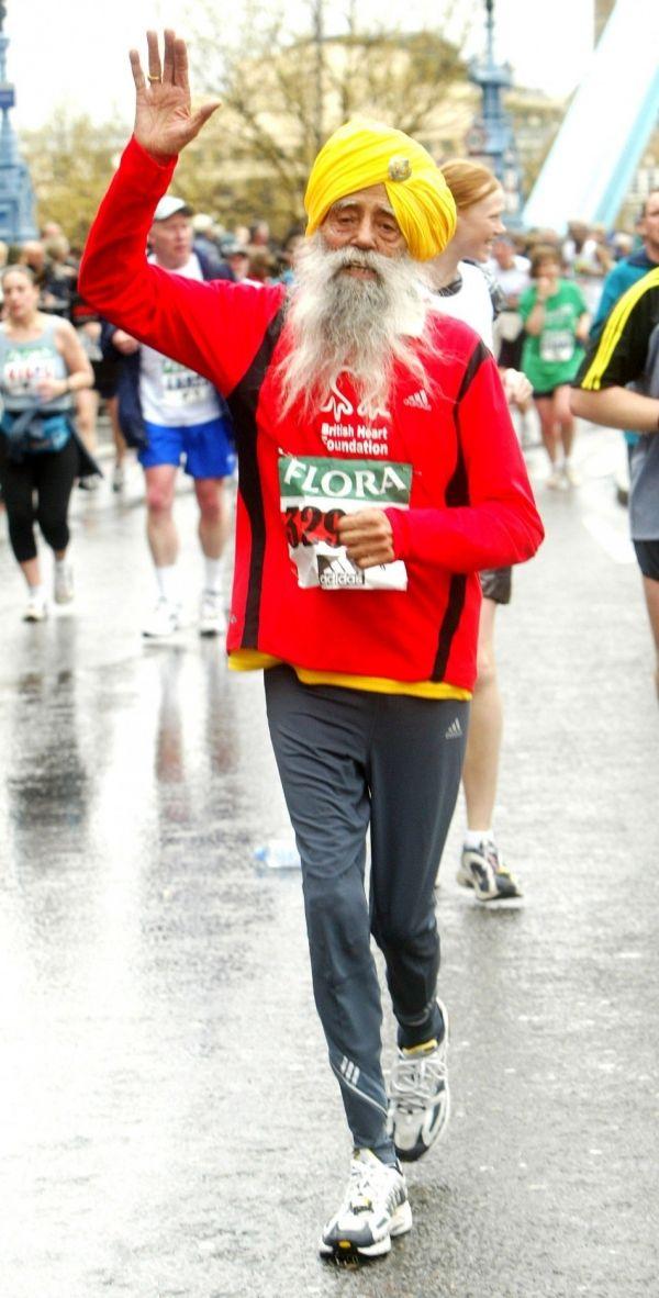 fauja singh | Fauja Singh: World's Oldest Marathon Runner To Run His Last Marathon ...